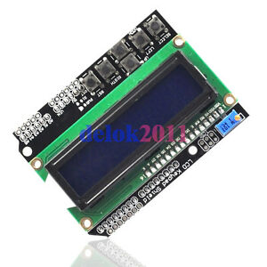 1602-LCD-Board-Module-Keypad-Shield-Backlight-For-Arduino