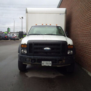 2009 Ford F-550 cube van Other