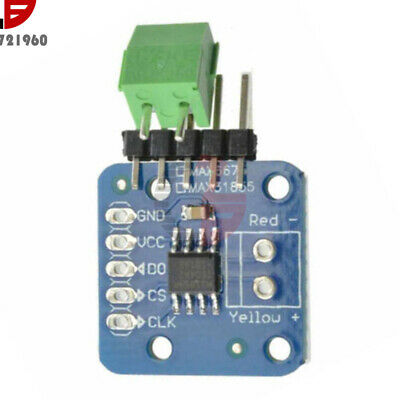 Durable Max6675 K Type Thermocouple Temperature Sensor Breakout Board Module
