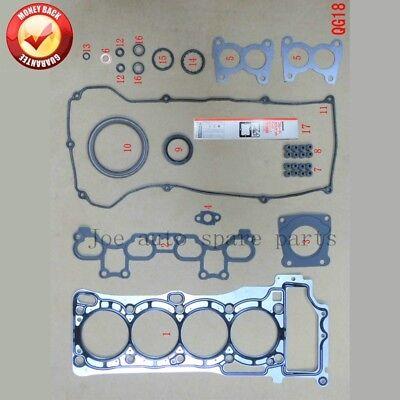QG18DE Engine complete Full gasket set kit for Nissan Almera/Sentra/Sunny 1.8L 1