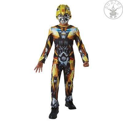 Bumblebee Transformers Transformerskostüm Kostüm Original Kinderkostüm (Transformers Bumblebee Kostüm Kind)