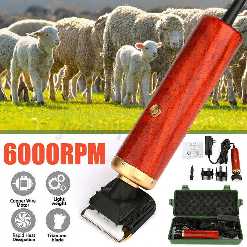 100w Electric Sheep Goat Clipper Shears Wool Shearing Rabbit Dog Animal Farm USp