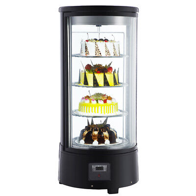 110v Countertop Glass Refrigerated Display Case For Cakes Pies
