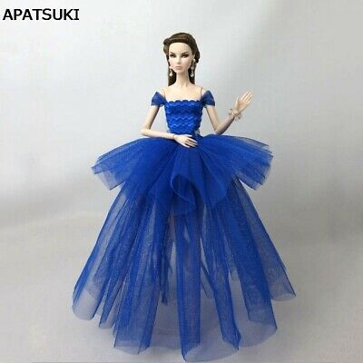 Royal Blue Fashion Costume Clothes For 11.5in. Doll Dress Outfits 1/6 Kids Toy](Doll Costume For Kids)