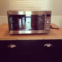 Stainless Steel Panasonic Microwave!