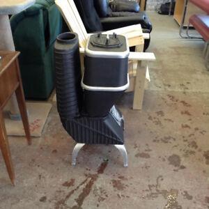 Restored Antique Booker Coal Heater