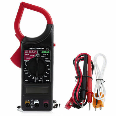 Dt266c Digital Temperature Measurement Handheld Multimeter Ohmmeter Clamp Meter