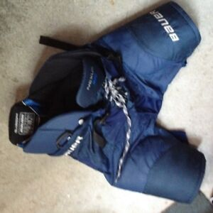 Peewee size hockey gear