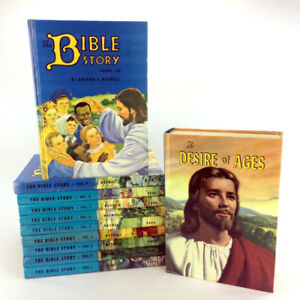 The Bible Story Books Complete Series 1-10 Vintage 1950's Jesus
