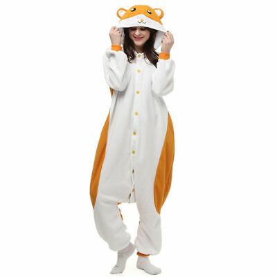 Anime Cosplay Kigu Pyjamas Costume Adult Onesie11 Fancy Dress  Hamster UK - Hamster Pyjama Kostüm