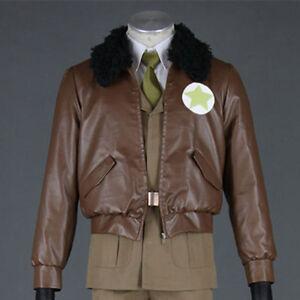 America Army Uniforms Axis Powers Hetalia APH Cosplay Costume Jacket