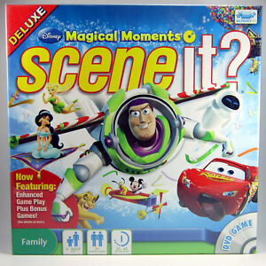 Disney Magical Moments Scene It? Deluxe DVD Game Family NEW