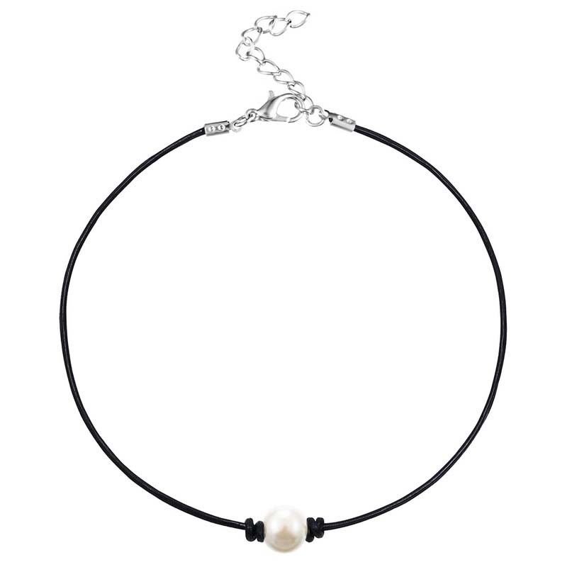 Jewellery - Fashion Pearl necklace choker necklace 1 pearl necklace Winter Summer necklace