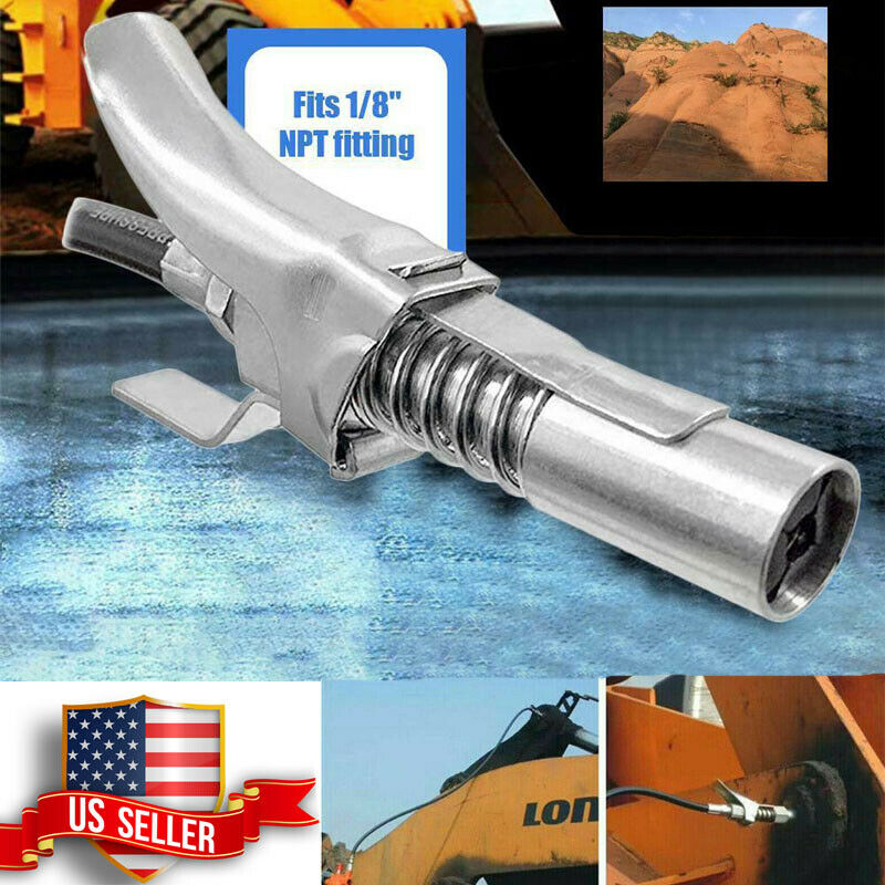 10,000 psi 1//8 in NPT Lever Action Grease Guns 16 Pack Grease 14 oz Deluxe Coupler