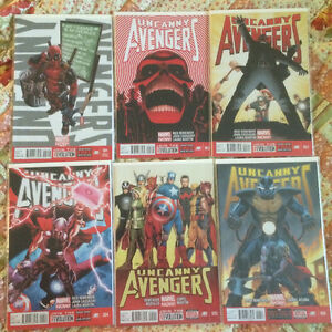 Uncanny Avengers V1! 1 to 11!