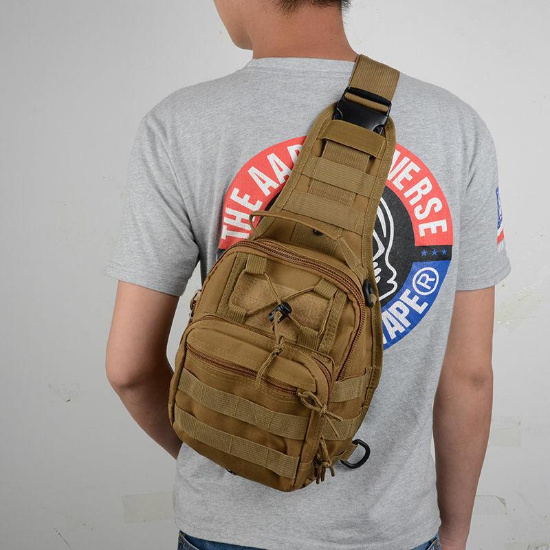 Mens-Sports-Military-Crossbody-Messenger-Shoulder-Backpack-Sling-Chest-Bag-New Bags
