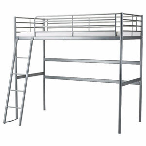 Ikea Svarta Loft Bed with mattress