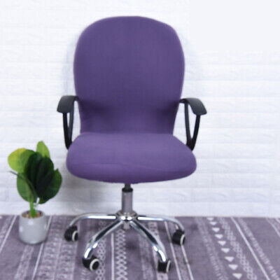 Swivel Lift Chair - Rotating Swivel Computer Seat Chair Cover Stretch Removable Computer Office Lift