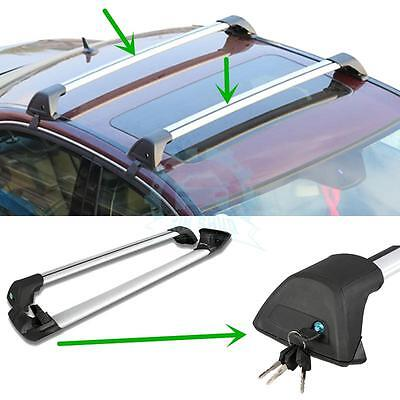 2*Pratical Roof Rack Overhead Luggage Rack Bars For Mitsubishi ASX 2011-2016