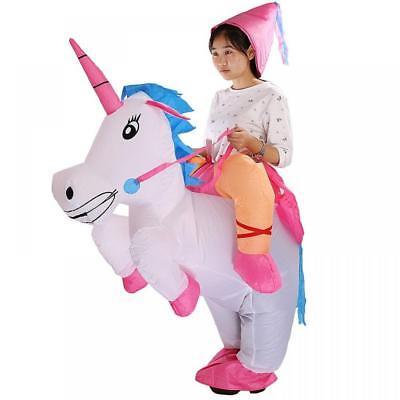Inflatable Einhorn Erwachsene Schicke Verkleidung Kostüm Hut - Einhorn Kostüm Hut