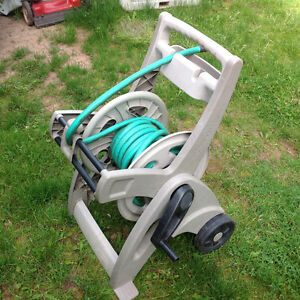 """Suncast"" Hose Reel Mobile with 50 ft. hose - holds up to 175 ft"