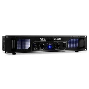 HIFI DISCO DJ PA AMPLIFIER 2000W MP3 HOME STEREO AMP *FREE P&P SPECIAL OFFER