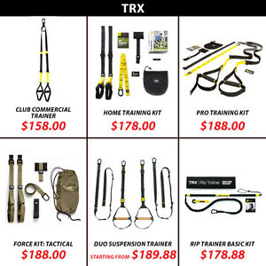 TRX Home Pro Tactical Force RIP Suspension Trainer kit Door Wall