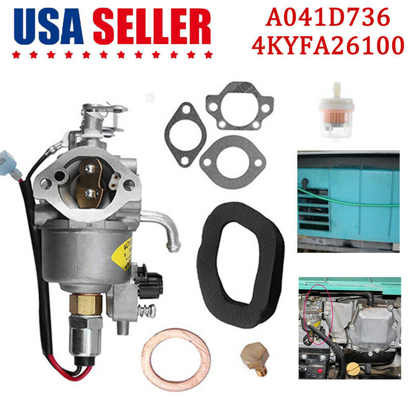 Carburetor for Onan Cummins A041D736 Microquiet 4000-Watt 4KYFA26100 Generators