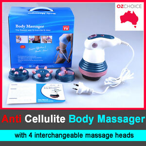 electric body slimming massager anti cellulite machine fat burn ebay. Black Bedroom Furniture Sets. Home Design Ideas