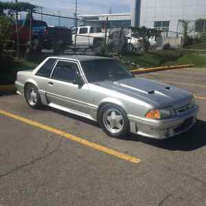 1989 MUSTANG LX WITH GT BODY KIT