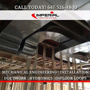 HVAC DESIGN | DUCTWORK | MECHANICAL ENGINEERING | INSTALLATION