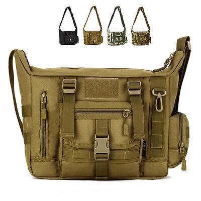 Tactical Shoulder Bag Tactical Messenger Bag Outdoor Travel Bag 14 Inch Laptop 14 Messenger