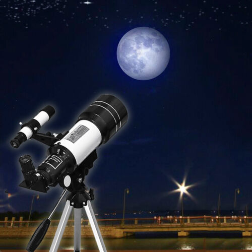 70mm Astronomical Telescope 150X Beginners Moon-watching w/ Tripod Table Present