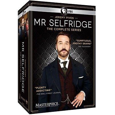 Mr  Selfridge The Complete Series Season 1 4 Boxset  Dvd 2016  1 2 3 4 Mr New