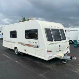 2011 BAILEY Unicorn Madrid Touring Caravan - 4 berth