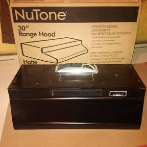 """NuTone Black 30"""" Range Hood"""