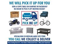 PICKMEUP OMAGH - FURNITURE HOUSE MOVE REMOVAL LARGE ITEMS GUMTREE PICK UP AND DELIVERY SERVICE