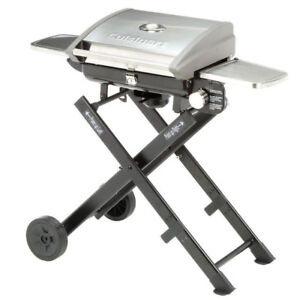 Cuisinart Portable Roll-Away Propane Gas Grill BBQ & Accessories