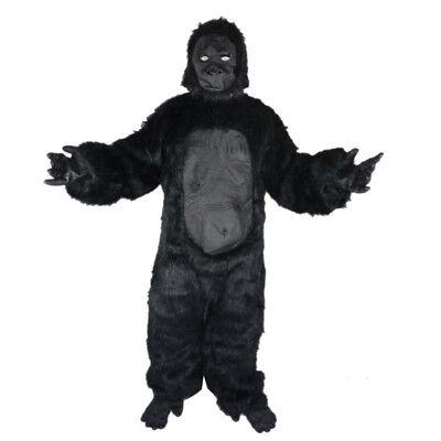 Realistic Gorilla Mascot Costume Suit Party Carnival Fancy Dress Adults - Gorilla Costume Realistic