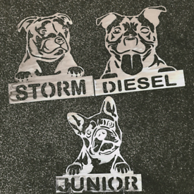 Metal Dog Sign Personalise