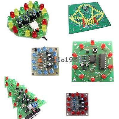 Led Diy Kits Interest Electronic Production Funny Diy Creative Birthday Gift