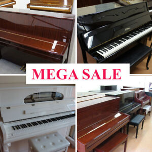 ★ PIANO CLEARANCE SALE ★ PIANOS FROM $895 ★