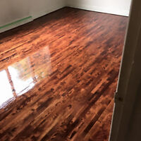 Hardwood floor sanding  from 1,25$ pi2 Special Napanee !!!!!