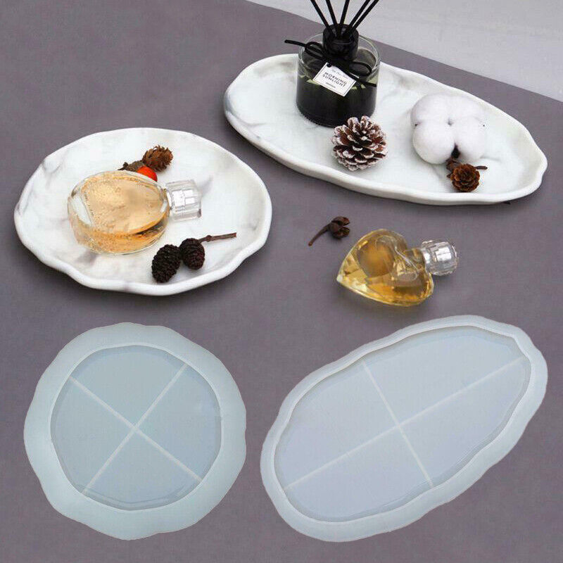 Jewelry Accessories Tray Plate Dish Molds Resin Epoxy Resin