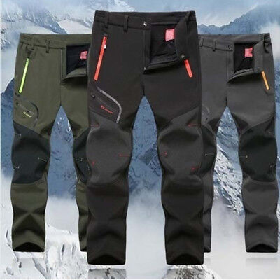 Men Pants Waterproof Outdoor Sports Hiking Camping Skiing Trouser Plus Size