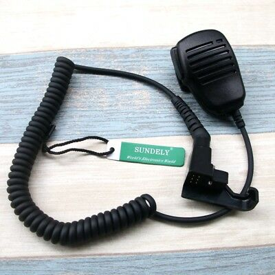 High Quality Handheld Speaker Mic For Motorola Radio P200p210p500 -us Stock
