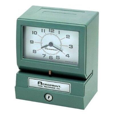 Acroprint Electric Print Heavy-duty Standard Time Recorder-150nr4 01-2070-411