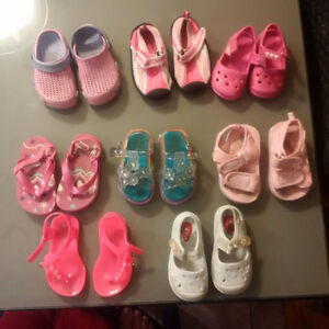Various shoes & sandals size 6 - $ 30 FOR LOT OR $5 EACH PAIR