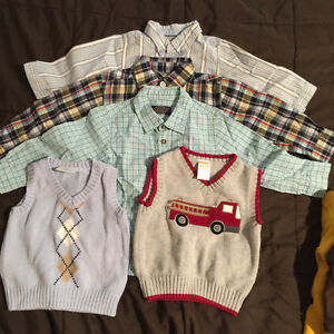 Lot of clothing for boy from size 18 months - 3t