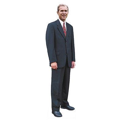 GEORGE W. BUSH President Dubya Lifesize CARDBOARD CUTOUT Standup Standee Poster